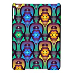 Pattern Background Bright Blue Ipad Air Hardshell Cases