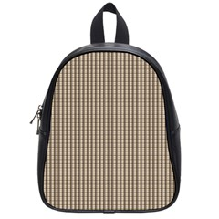 Pattern Background Stripes Karos School Bags (Small)