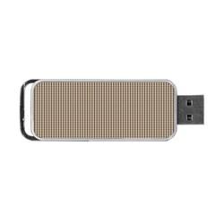 Pattern Background Stripes Karos Portable USB Flash (One Side)
