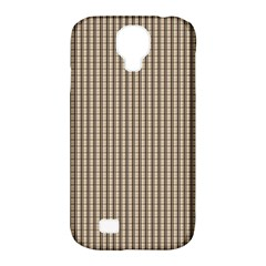 Pattern Background Stripes Karos Samsung Galaxy S4 Classic Hardshell Case (PC+Silicone)