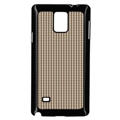 Pattern Background Stripes Karos Samsung Galaxy Note 4 Case (black)