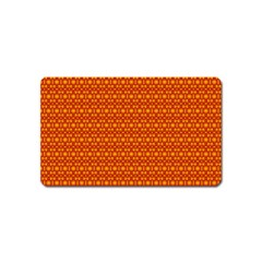Pattern Creative Background Magnet (Name Card)