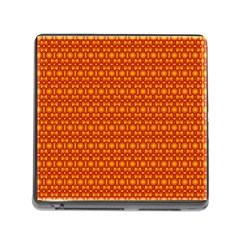 Pattern Creative Background Memory Card Reader (square)