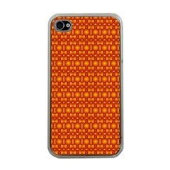 Pattern Creative Background Apple Iphone 4 Case (clear)