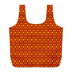 Pattern Creative Background Full Print Recycle Bags (L)