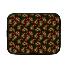 Pattern Abstract Paisley Swirls Netbook Case (Small)