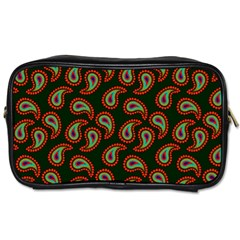Pattern Abstract Paisley Swirls Toiletries Bags 2-Side