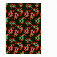 Pattern Abstract Paisley Swirls Small Garden Flag (Two Sides)