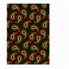 Pattern Abstract Paisley Swirls Large Garden Flag (two Sides)