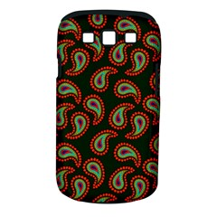Pattern Abstract Paisley Swirls Samsung Galaxy S III Classic Hardshell Case (PC+Silicone)
