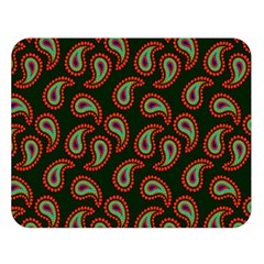 Pattern Abstract Paisley Swirls Double Sided Flano Blanket (large)