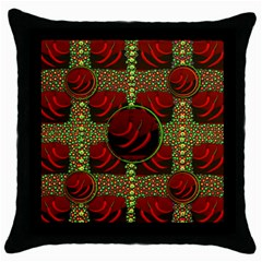 Spanish And Hot Throw Pillow Case (Black)
