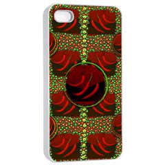 Spanish And Hot Apple iPhone 4/4s Seamless Case (White)