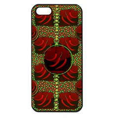 Spanish And Hot Apple iPhone 5 Seamless Case (Black)
