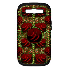 Spanish And Hot Samsung Galaxy S III Hardshell Case (PC+Silicone)