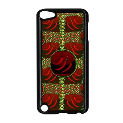 Spanish And Hot Apple Ipod Touch 5 Case (black)