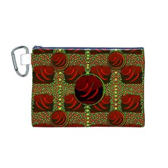Spanish And Hot Canvas Cosmetic Bag (M)