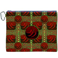 Spanish And Hot Canvas Cosmetic Bag (XXXL)