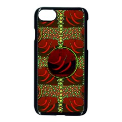 Spanish And Hot Apple iPhone 7 Seamless Case (Black)