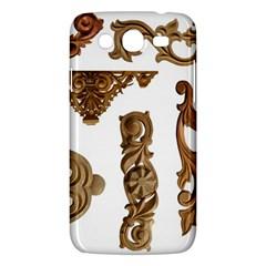 Pattern Motif Decor Samsung Galaxy Mega 5.8 I9152 Hardshell Case