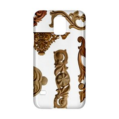Pattern Motif Decor Samsung Galaxy S5 Hardshell Case