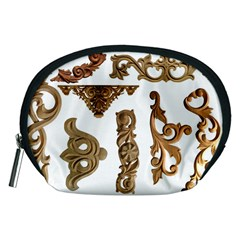 Pattern Motif Decor Accessory Pouches (Medium)