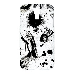 Pattern Color Painting Dab Black Samsung Galaxy S4 I9500/I9505 Hardshell Case
