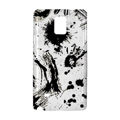 Pattern Color Painting Dab Black Samsung Galaxy Note 4 Hardshell Case