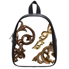 Pattern Motif Decor School Bags (Small)