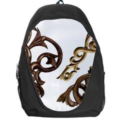 Pattern Motif Decor Backpack Bag