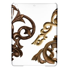 Pattern Motif Decor iPad Air Hardshell Cases