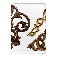 Pattern Motif Decor Samsung Galaxy Tab Pro 10.1 Hardshell Case