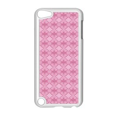 Pattern Pink Grid Pattern Apple Ipod Touch 5 Case (white)