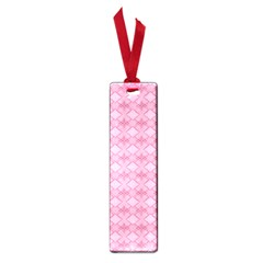 Pattern Pink Grid Pattern Small Book Marks