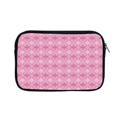 Pattern Pink Grid Pattern Apple iPad Mini Zipper Cases