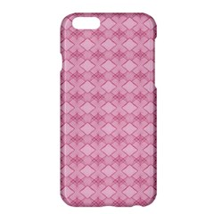 Pattern Pink Grid Pattern Apple iPhone 6 Plus/6S Plus Hardshell Case