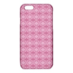 Pattern Pink Grid Pattern iPhone 6/6S TPU Case