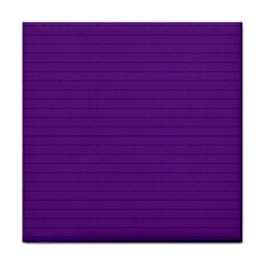 Pattern Violet Purple Background Tile Coasters