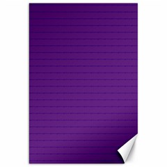 Pattern Violet Purple Background Canvas 20  x 30