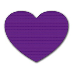 Pattern Violet Purple Background Heart Mousepads