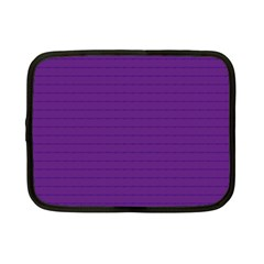 Pattern Violet Purple Background Netbook Case (Small)