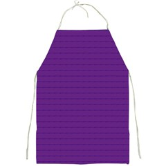 Pattern Violet Purple Background Full Print Aprons