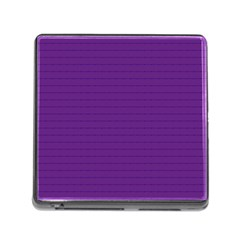 Pattern Violet Purple Background Memory Card Reader (square)
