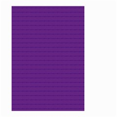 Pattern Violet Purple Background Small Garden Flag (two Sides)