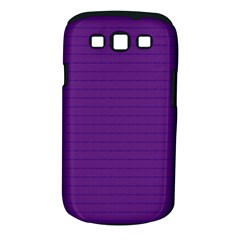Pattern Violet Purple Background Samsung Galaxy S III Classic Hardshell Case (PC+Silicone)