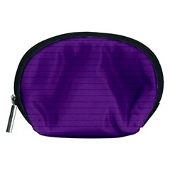 Pattern Violet Purple Background Accessory Pouches (medium)