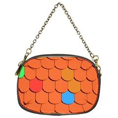 Roof Brick Colorful Red Roofing Chain Purses (Two Sides)