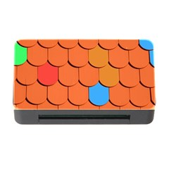 Roof Brick Colorful Red Roofing Memory Card Reader with CF