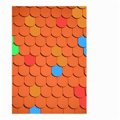 Roof Brick Colorful Red Roofing Small Garden Flag (two Sides)