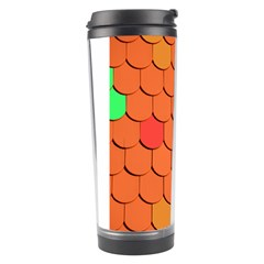 Roof Brick Colorful Red Roofing Travel Tumbler